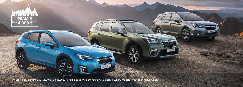 Subaru Entdeckerprämie